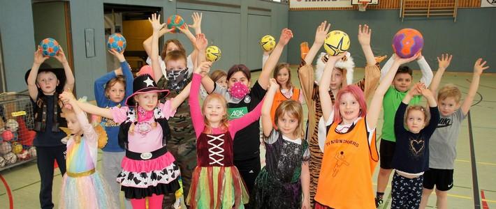 Der TVM stellt vor: Handball – die Minis und E-Jugend